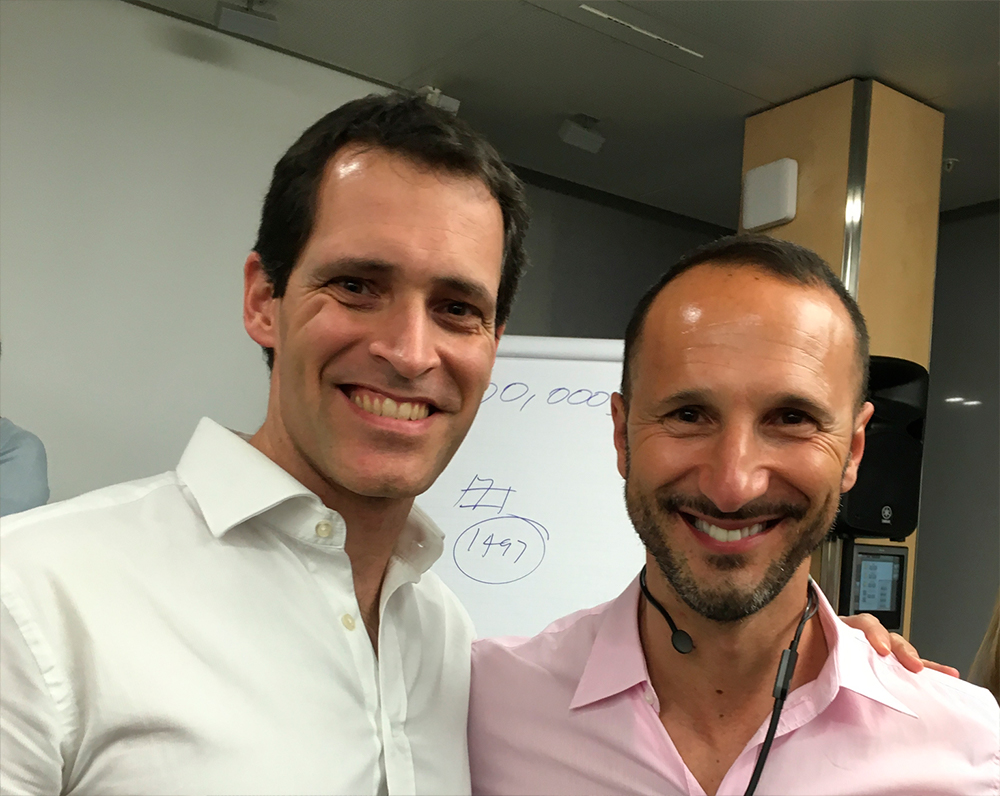Mario Giraldo and Johnnie Cass